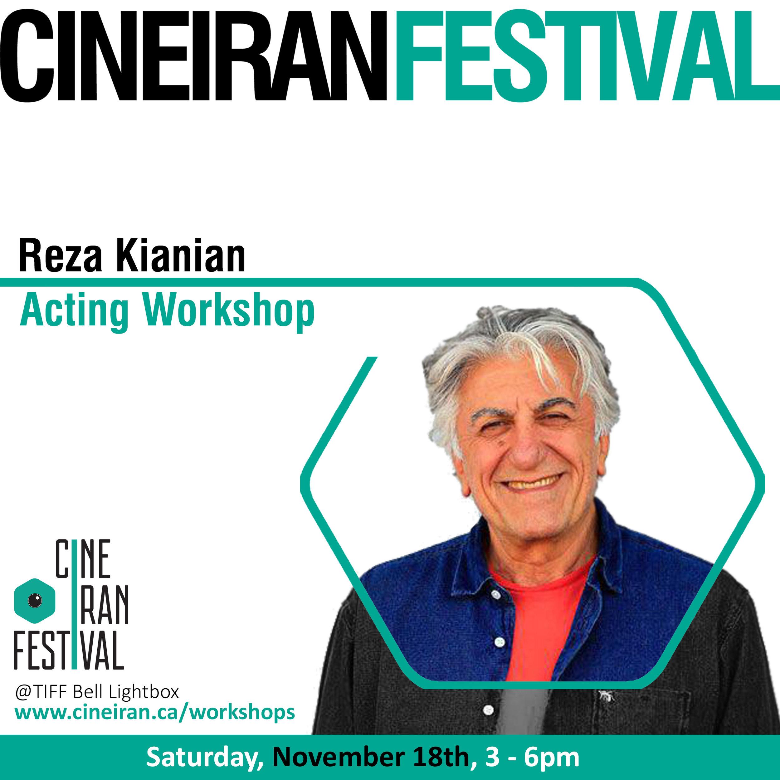On Acting with Reza Kianian