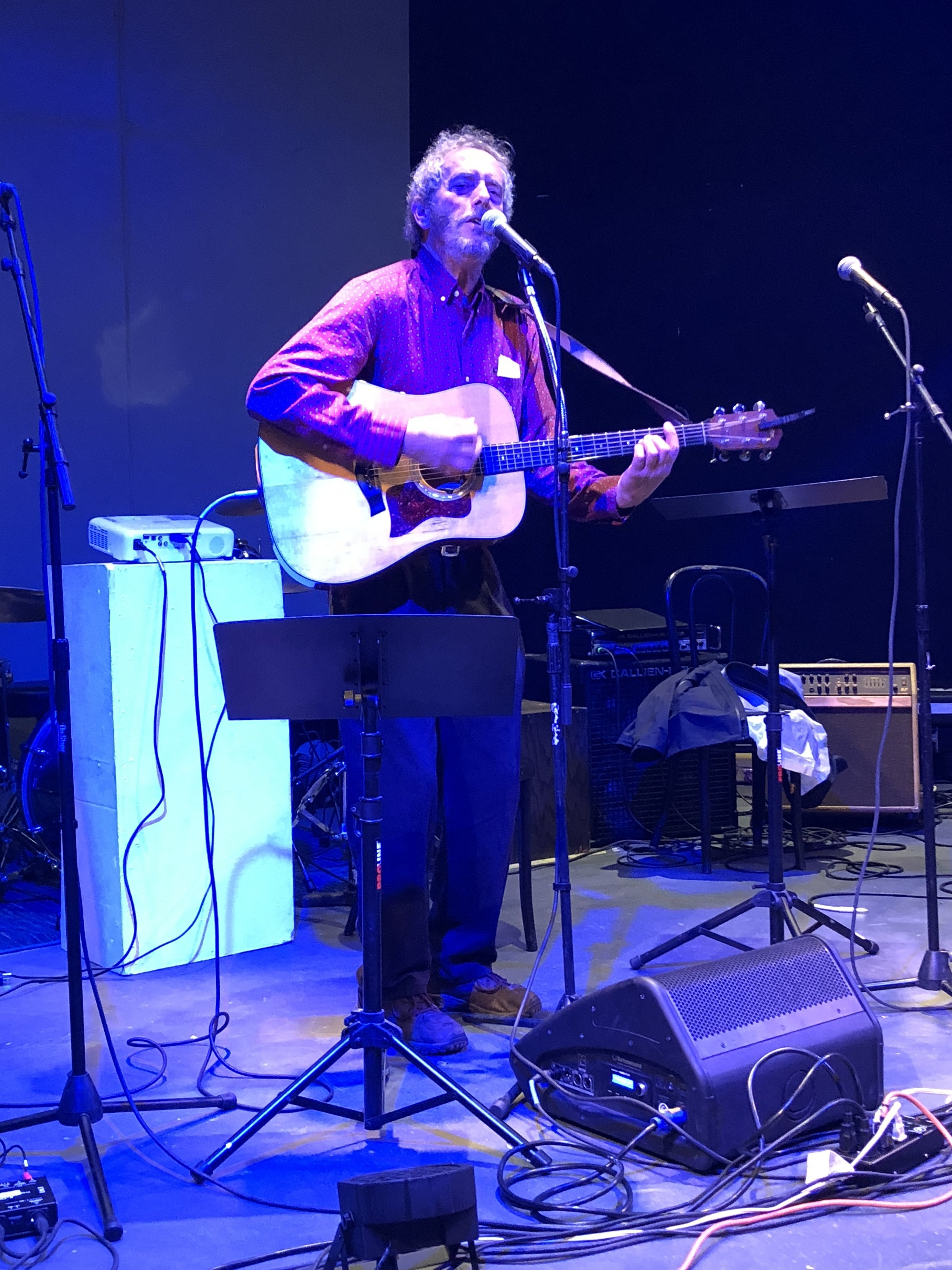Bob Gudmundson at FisherPoets-on-Bellingham-Bay!