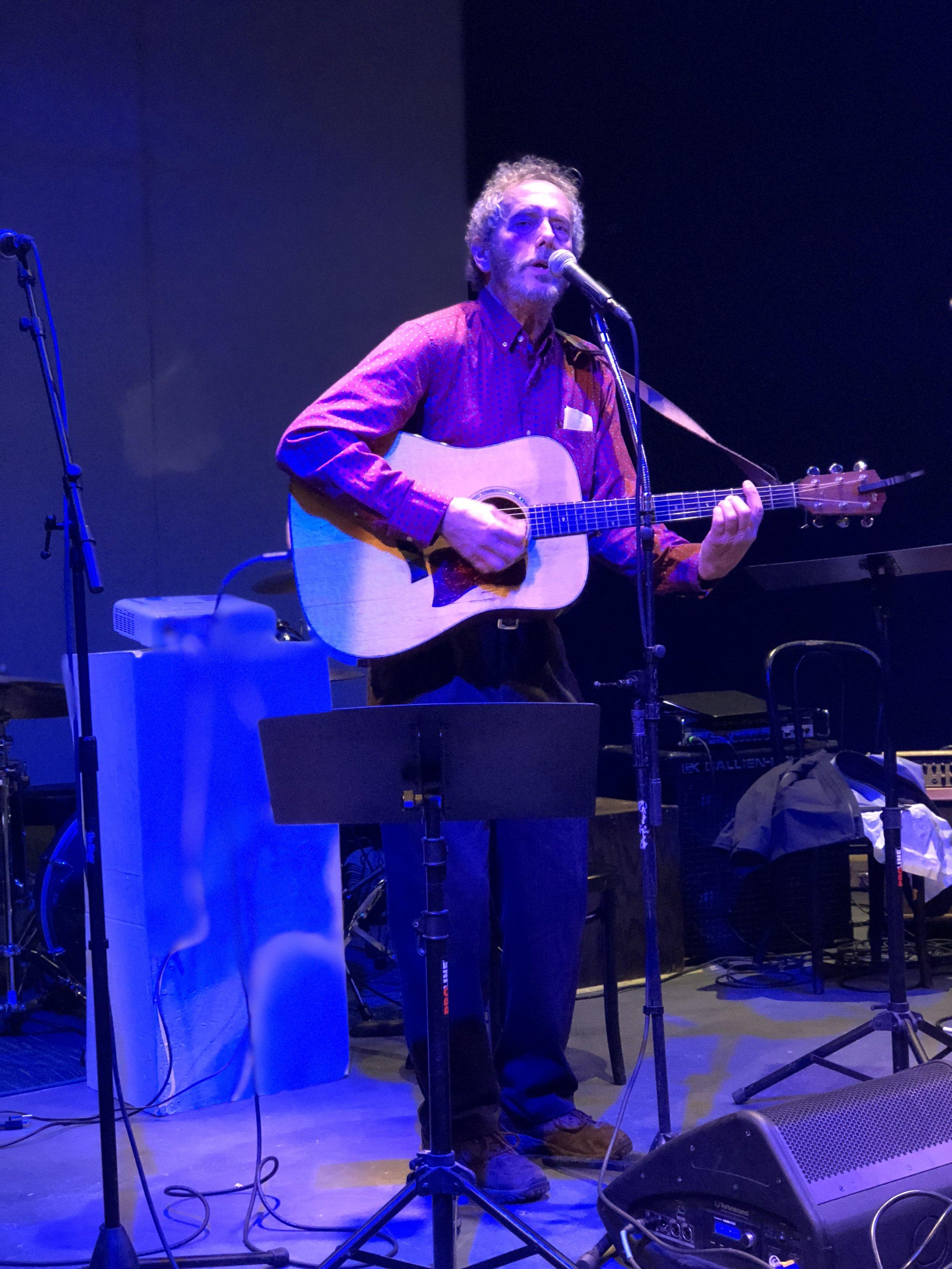 Bob Gudmundson, of Desire Fish Co, sings original songs of the sea in 2018.