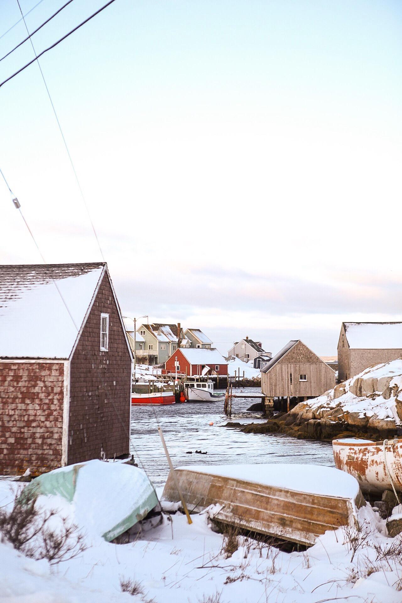 Peggys Cove, Nova Scotia.