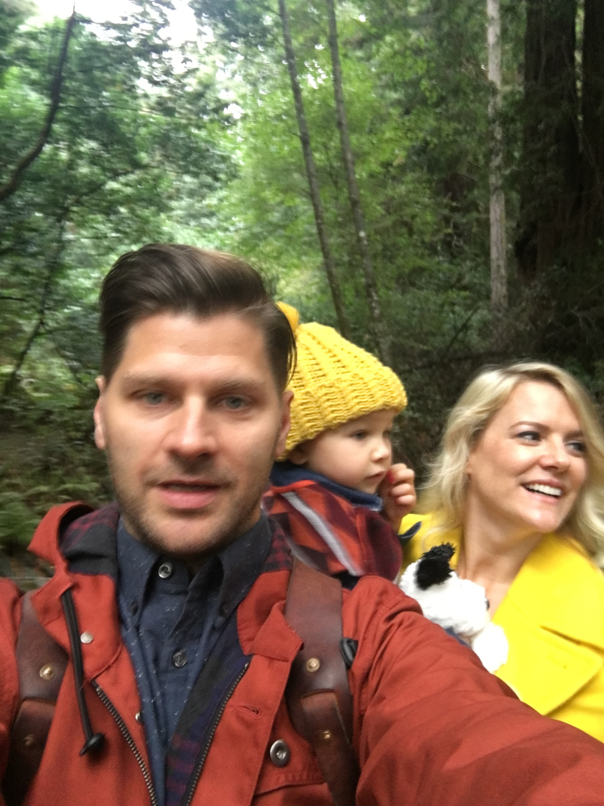 Family Selfie. Jessica, Sydney and I.