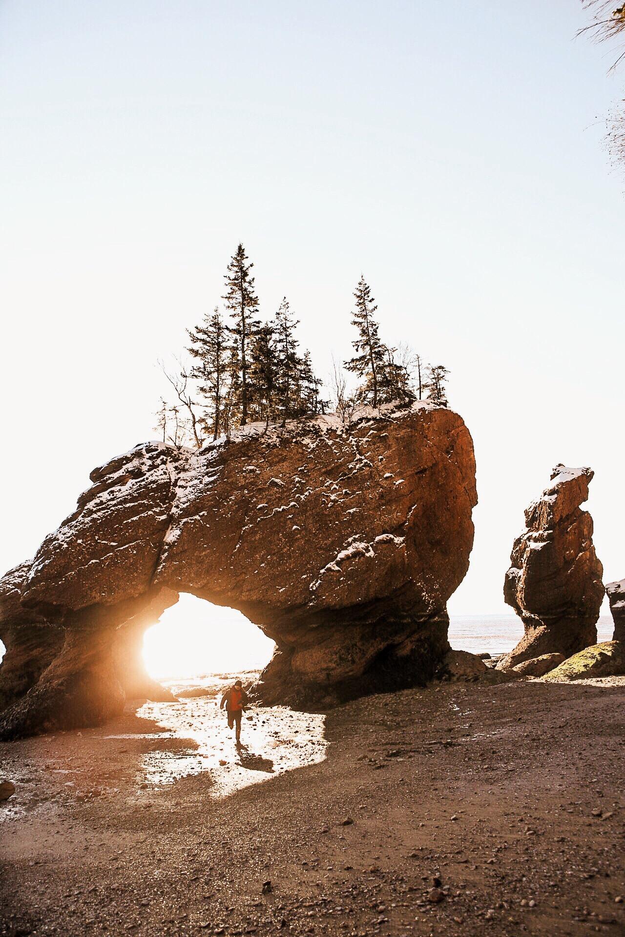 Hopewell Rocks, New Brunswick.