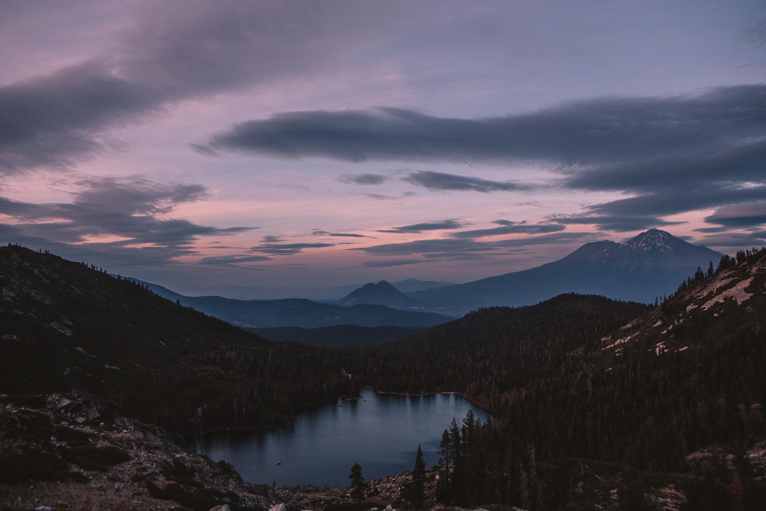Castle Lake, Mount Shasta.