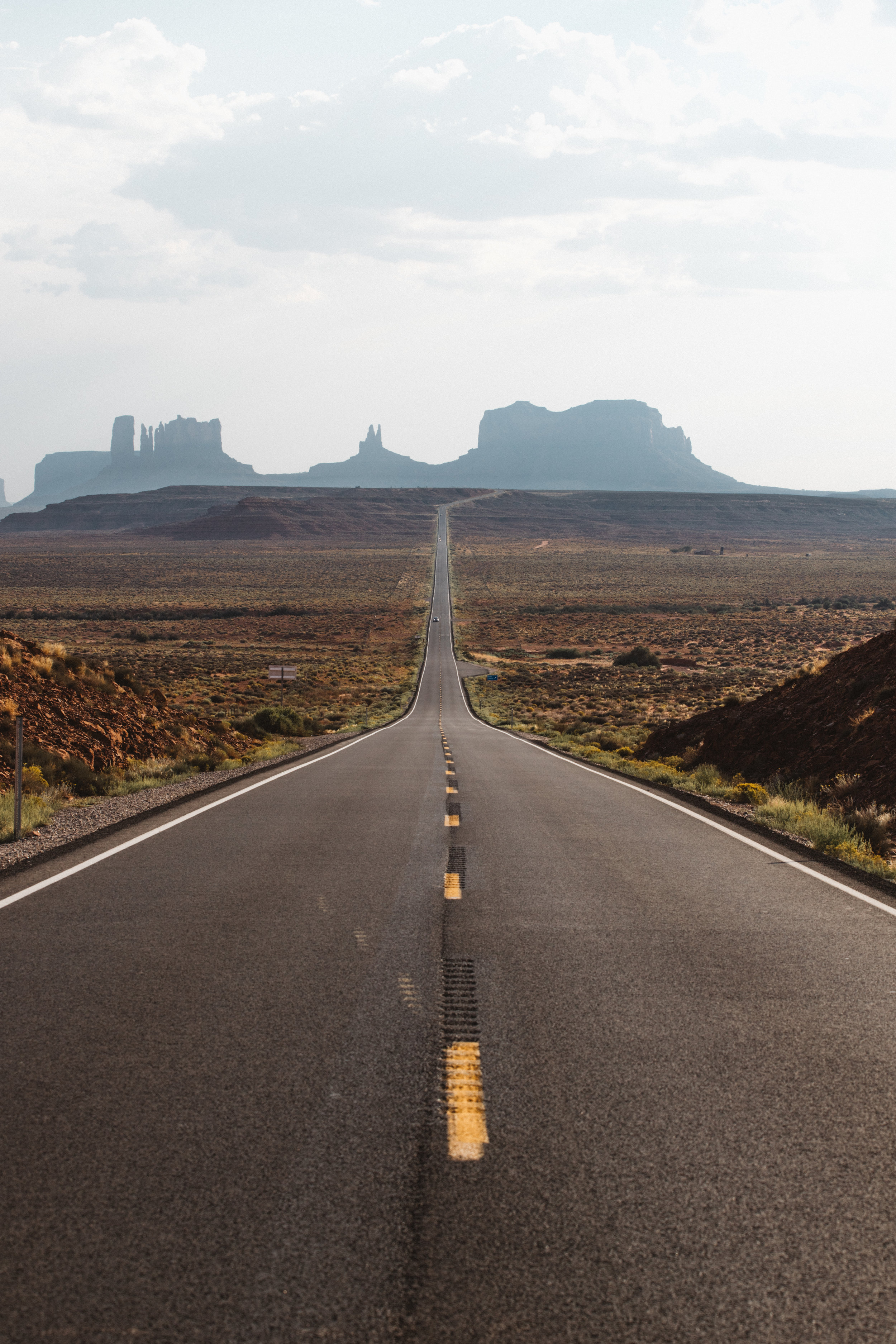The Road to Monument Valley.
