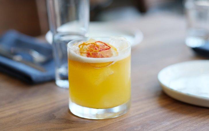Rosaline Restaurant Bellicose Warrier Cocktail