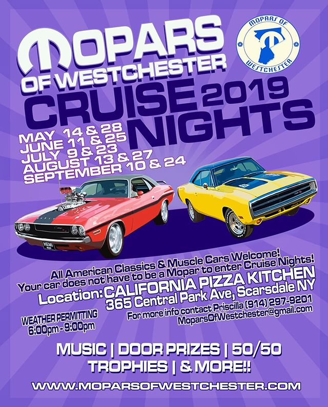 Whose ready??? #cruisenight #carshow #mopar #moparsofwestchester #car #show #cruise #night #spring #summer #classiccar #classiccars