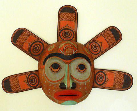 Native American Sun Mask - Kwakiutl Indian mask.jpg