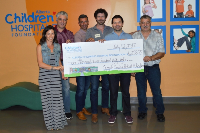 Following a successful fundraising event for the  Alberta Children's Hospital