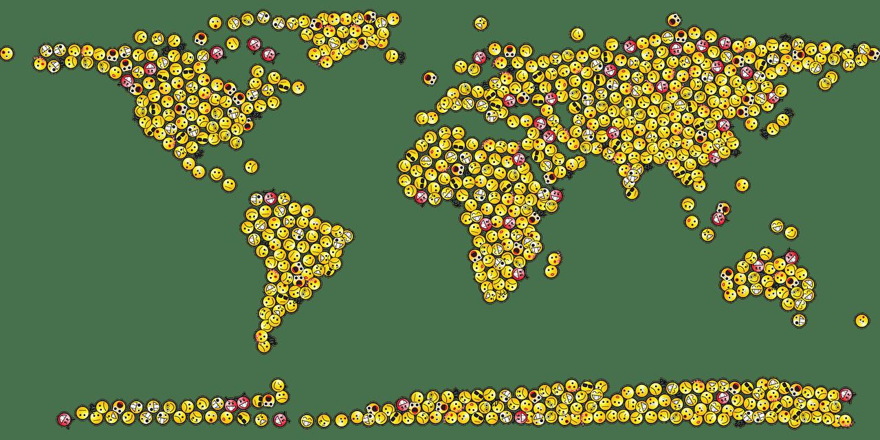 Emoji-globe
