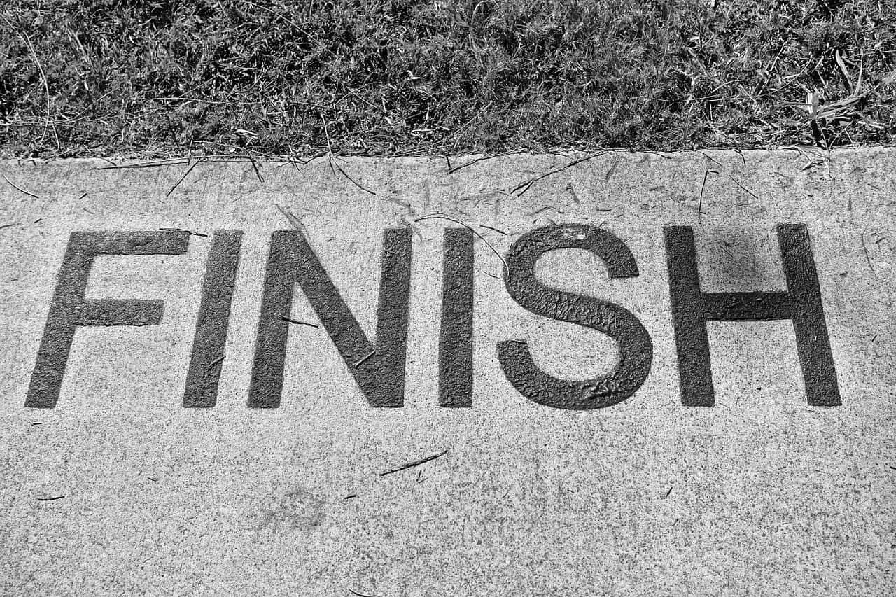 Race-finish-line