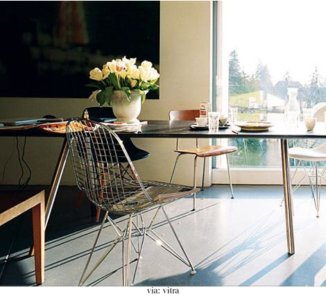 Modern Eames Wire chair