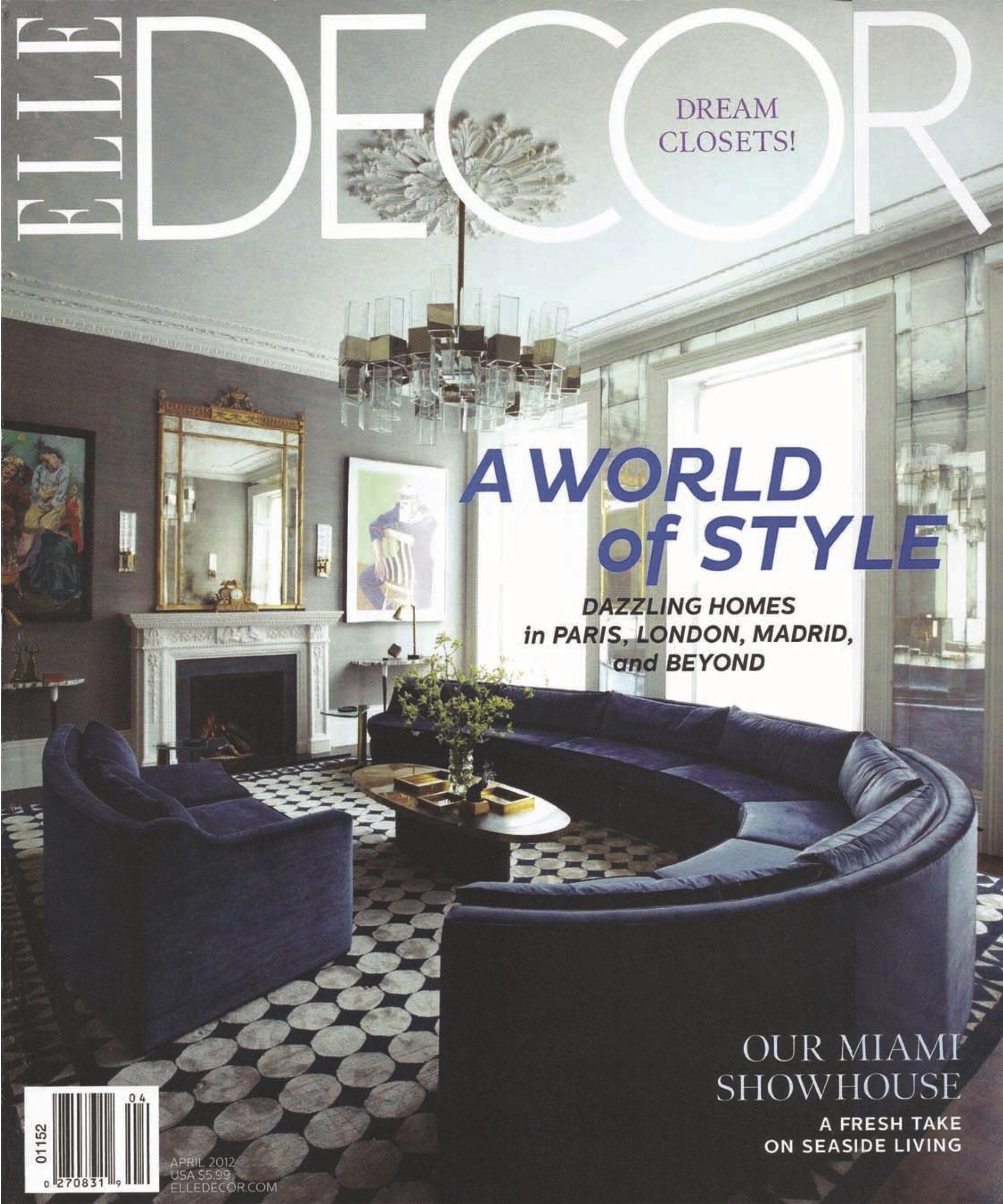 Elle Decor Interior Designers avanzato design | luxury interior design firm | miami - new