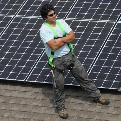Javier Medrano - Solar Installer
