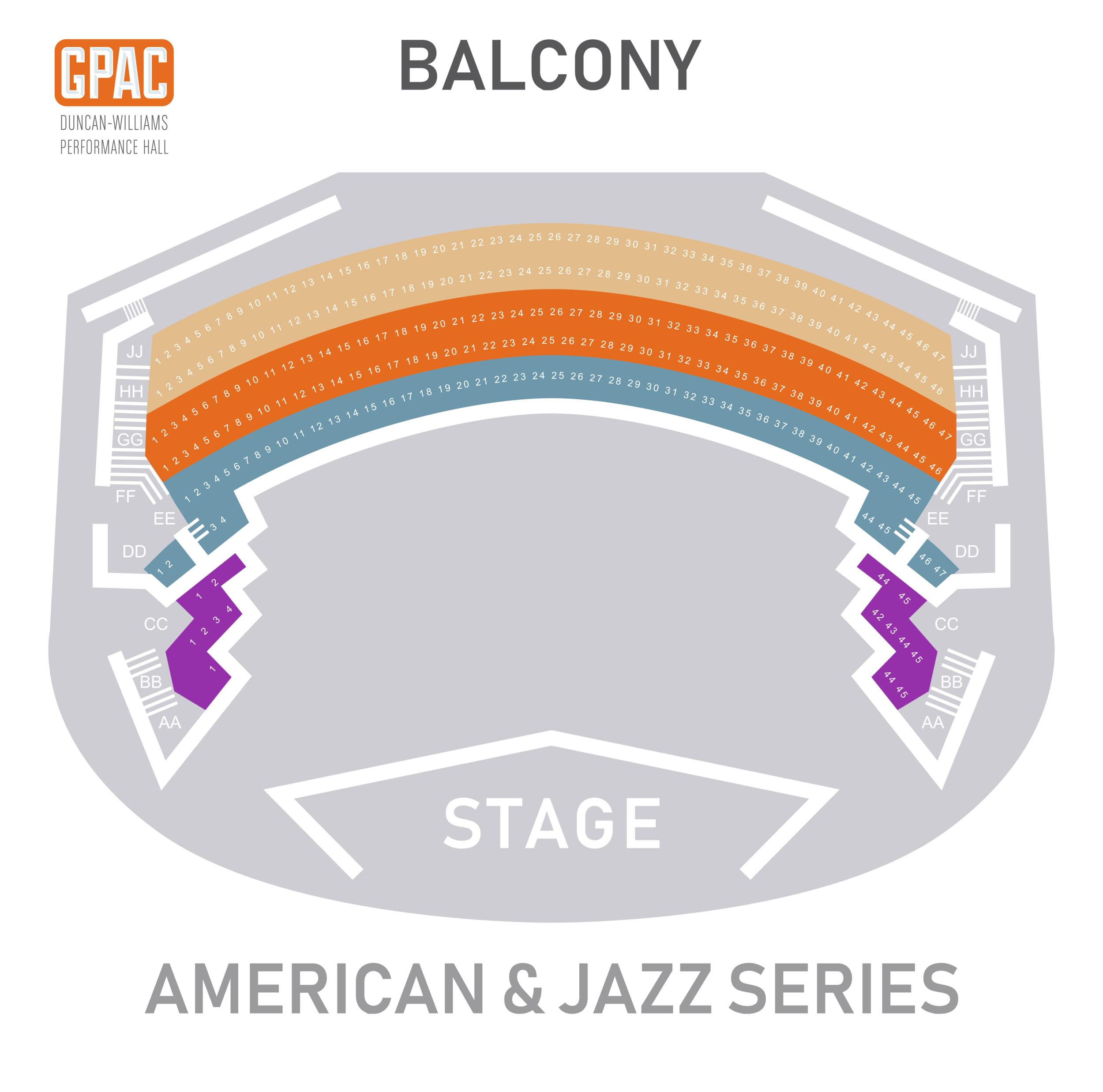 American & Jazz Balcony