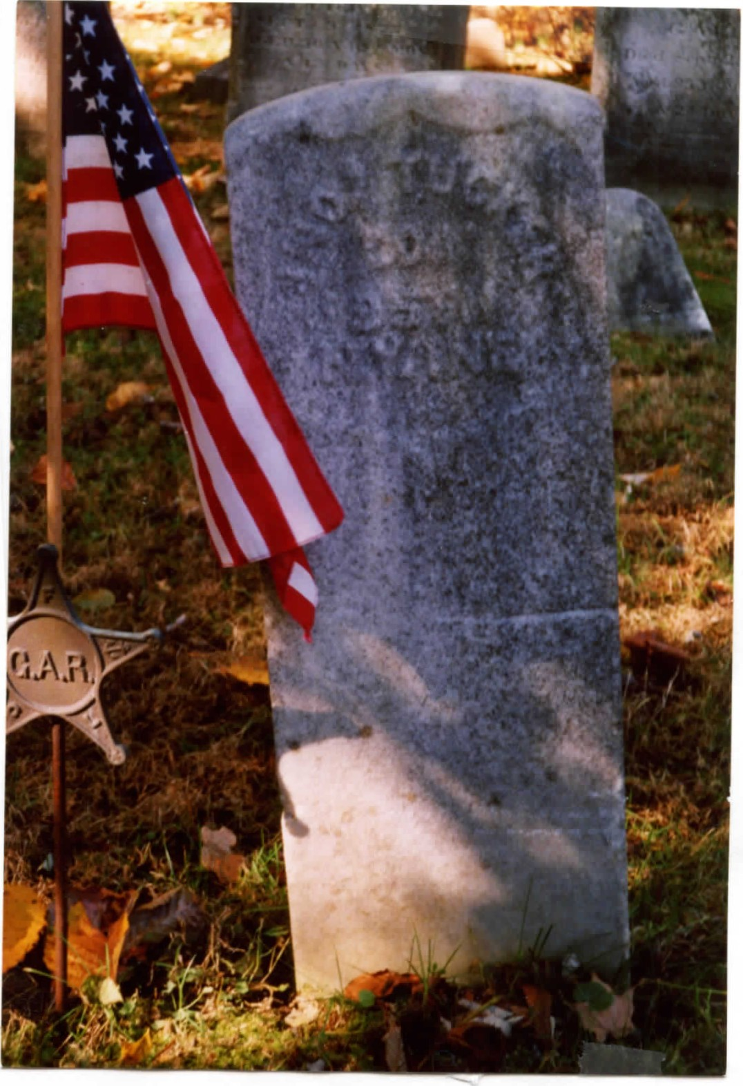 "## Photo is marked only  as ""Tucker"". It may be John's older brother, Samuel, who served in the 1st New York Mounted Rifles and is buried in Middle Patent cemetery"