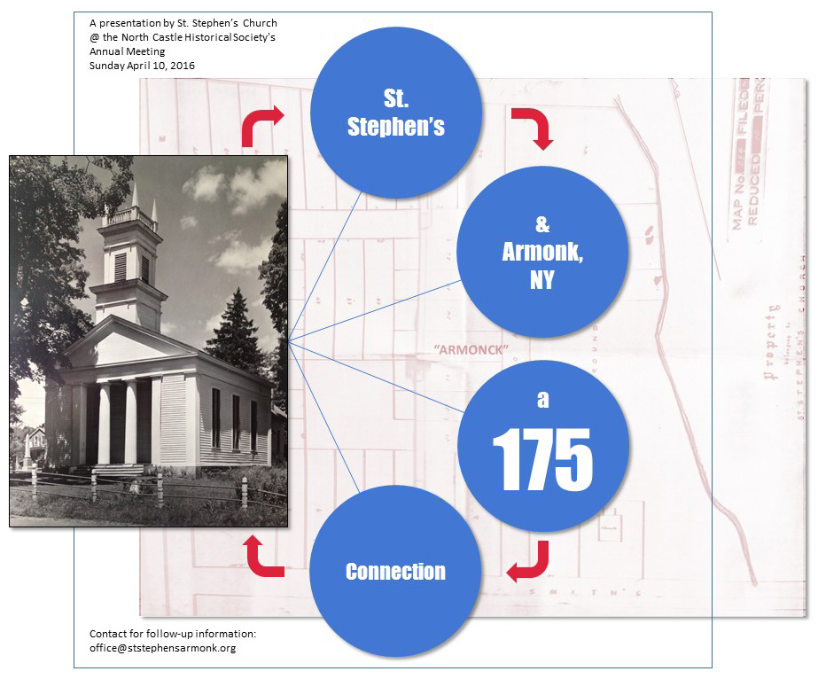 "Image 1:   ""St. Stephen's and Armonk, NY: A 175 Year Connection."""