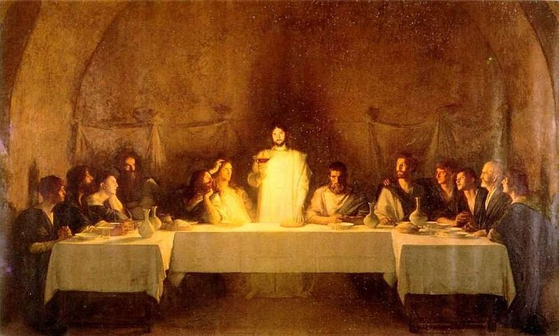 The Last Supper by Bouveret
