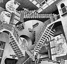 Relativity by MC Escher