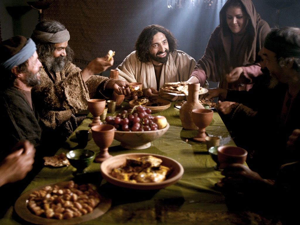 A dinner party from the time of Jesus