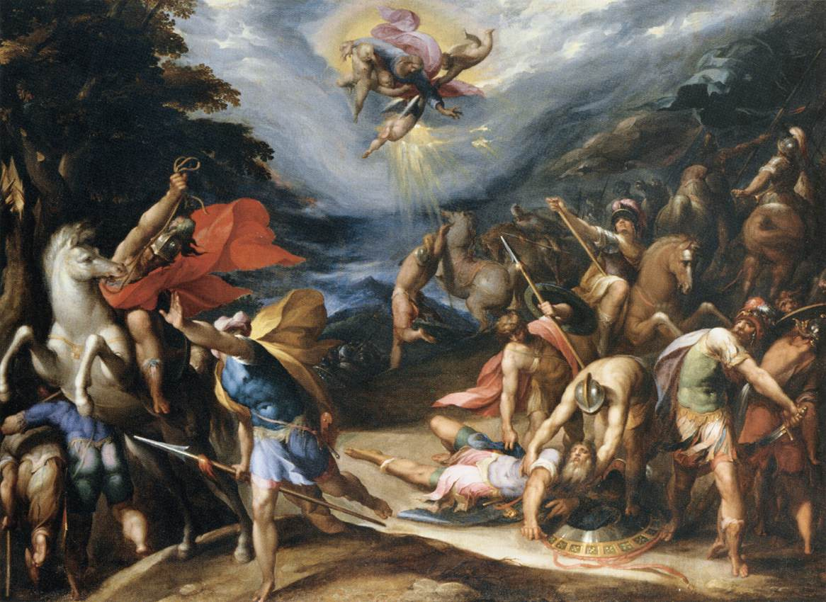 The Conversion of St Paul on the Road to Damascus by Hans Speckaert