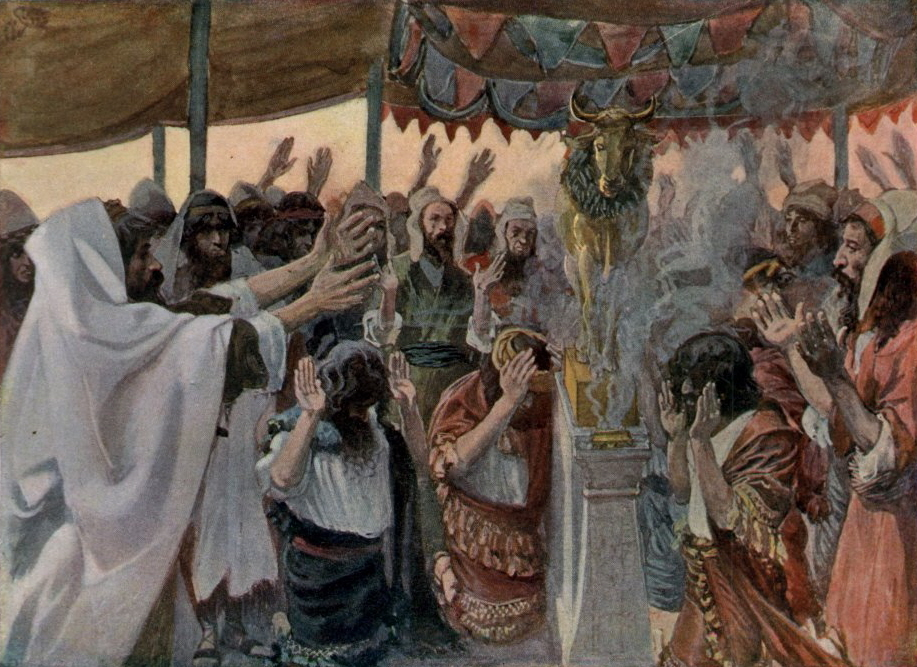 The Golden Calf by James Tissot