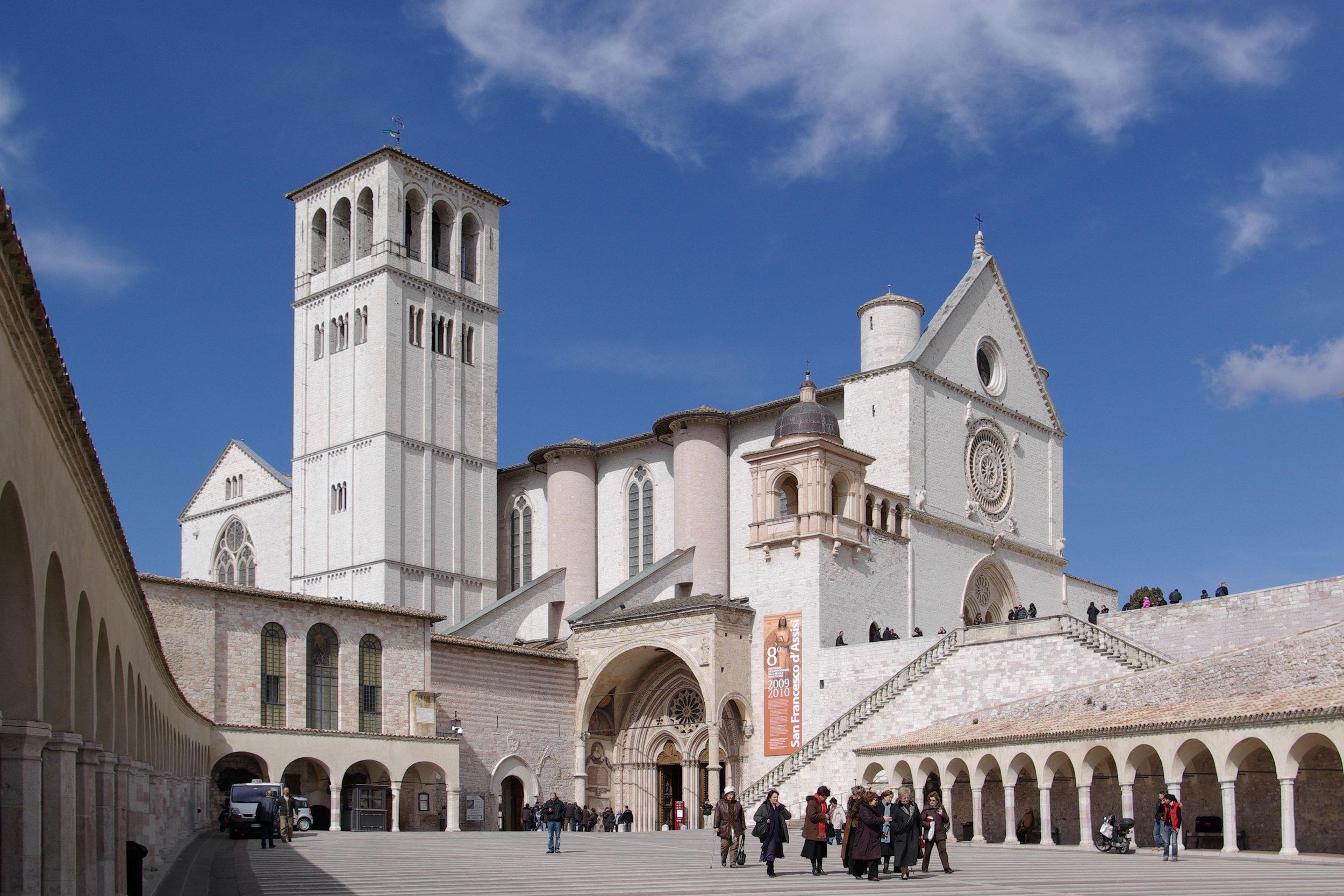Basilica di San Francesco in Assisi, Italy
