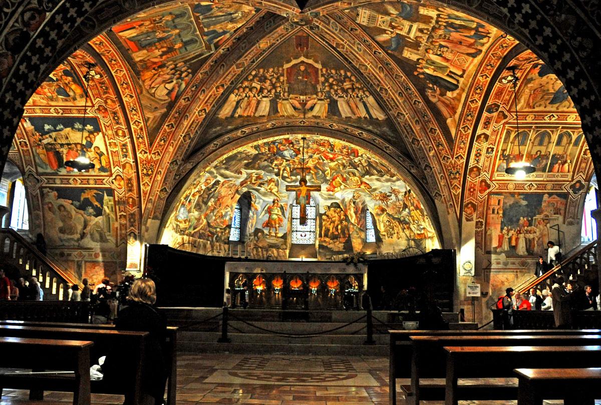 The lower basilica