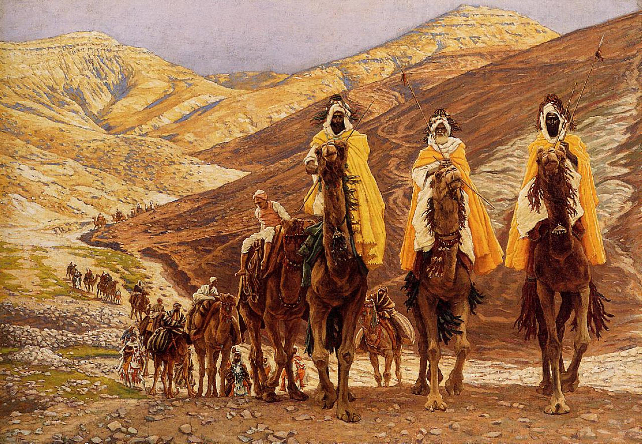 The Journey of the Magi by James Tissot.