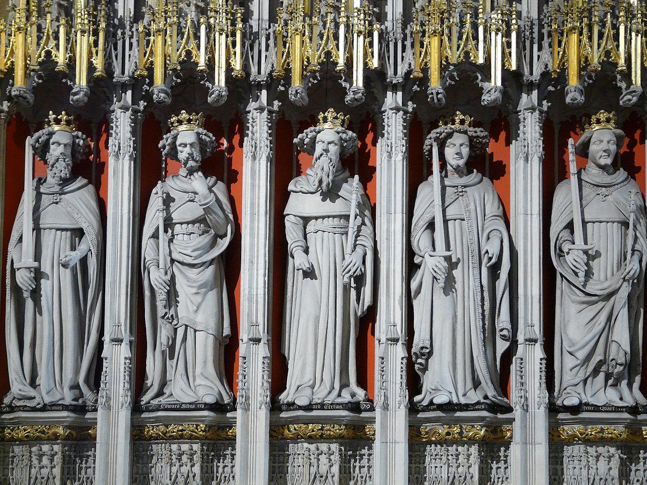 York Minster's choir screen