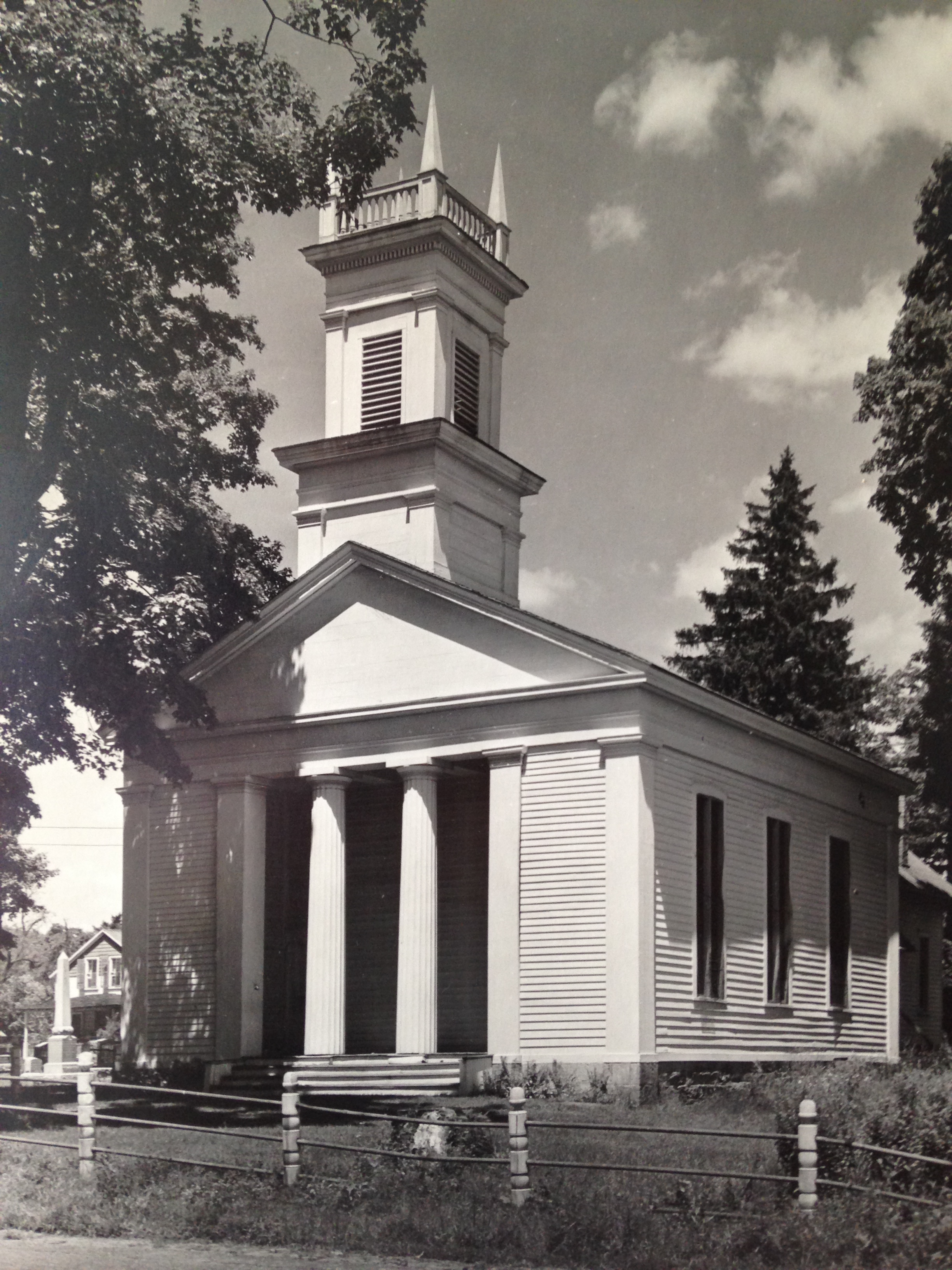 St. Stephen's as it looked in the 1930s