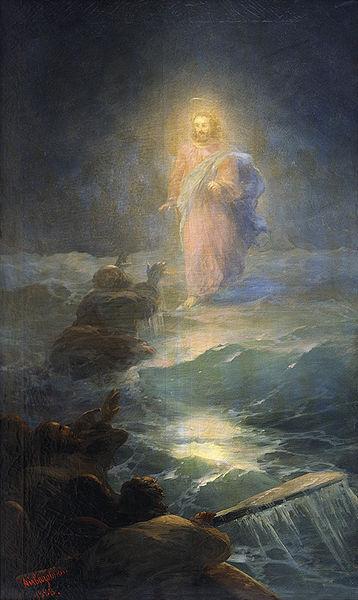 'Walking on Water' by Ivan Aivazovsky (1817–1900)