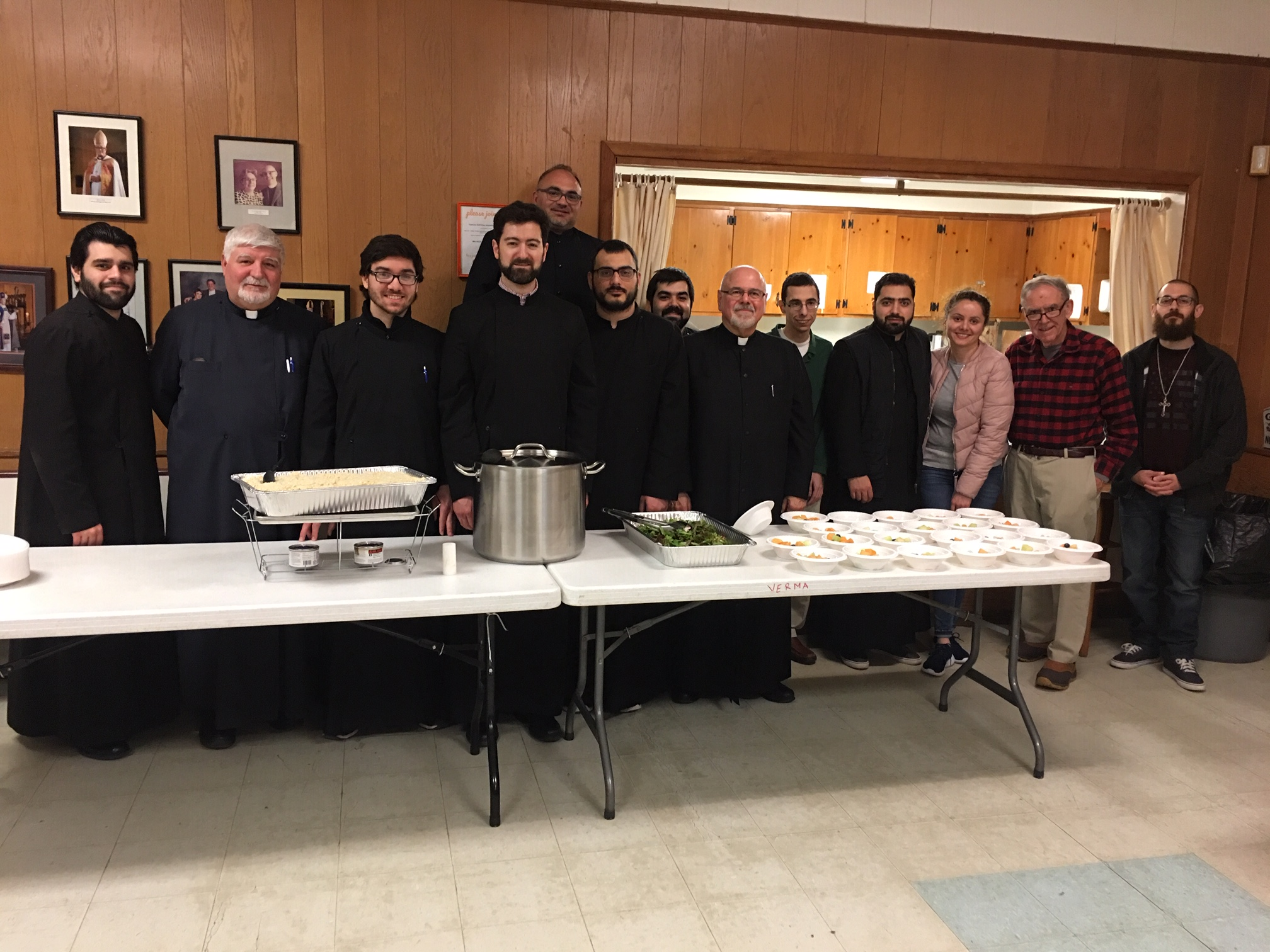 Participating with us were St. Nersess Armenian Seminary...