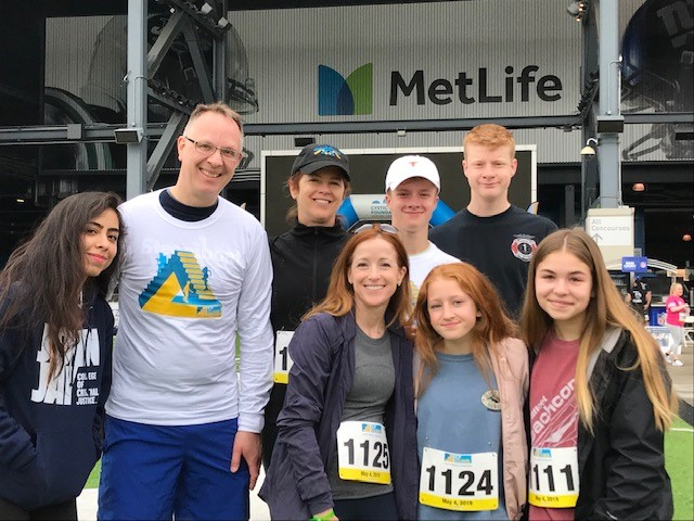 Members of the Youth Group from St. Stephens', and want-to-be youth, took on the challenge to climb over 2,800 steps to raise funds and awareness for the Cystic Fibrosis Foundation. Cystic fibrosis is a progressive, genetic disease that causes persistent lung infections and over time it limits the ability to breathe.