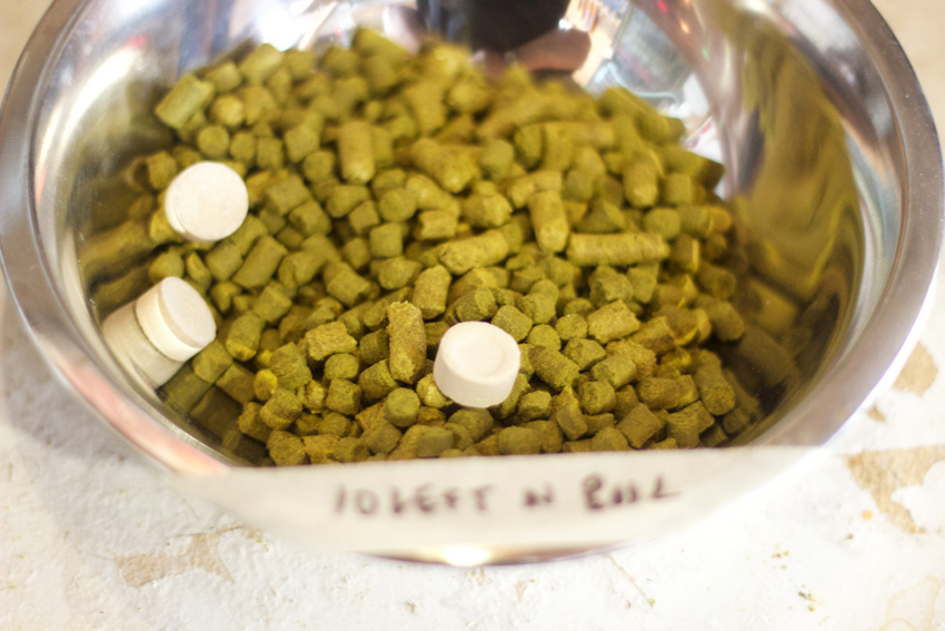 10 Minute hops with some whirlfloc