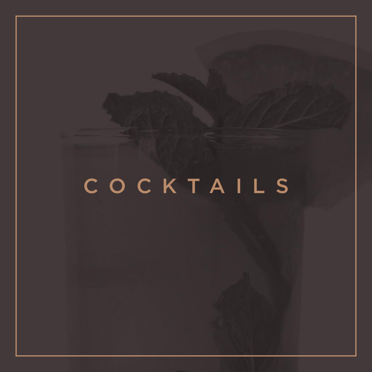 sento bene - cocktails