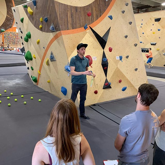 Presenting at the #cwasummit2019 was a great experience! Getting to meet and work with so many great coaches was amazing! Thanks @climbingwallassociation for having us and @longmontclimbs for hosting our pre-conference workshop!