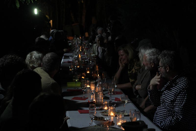 Long Table dinner at the Cooroora Institute