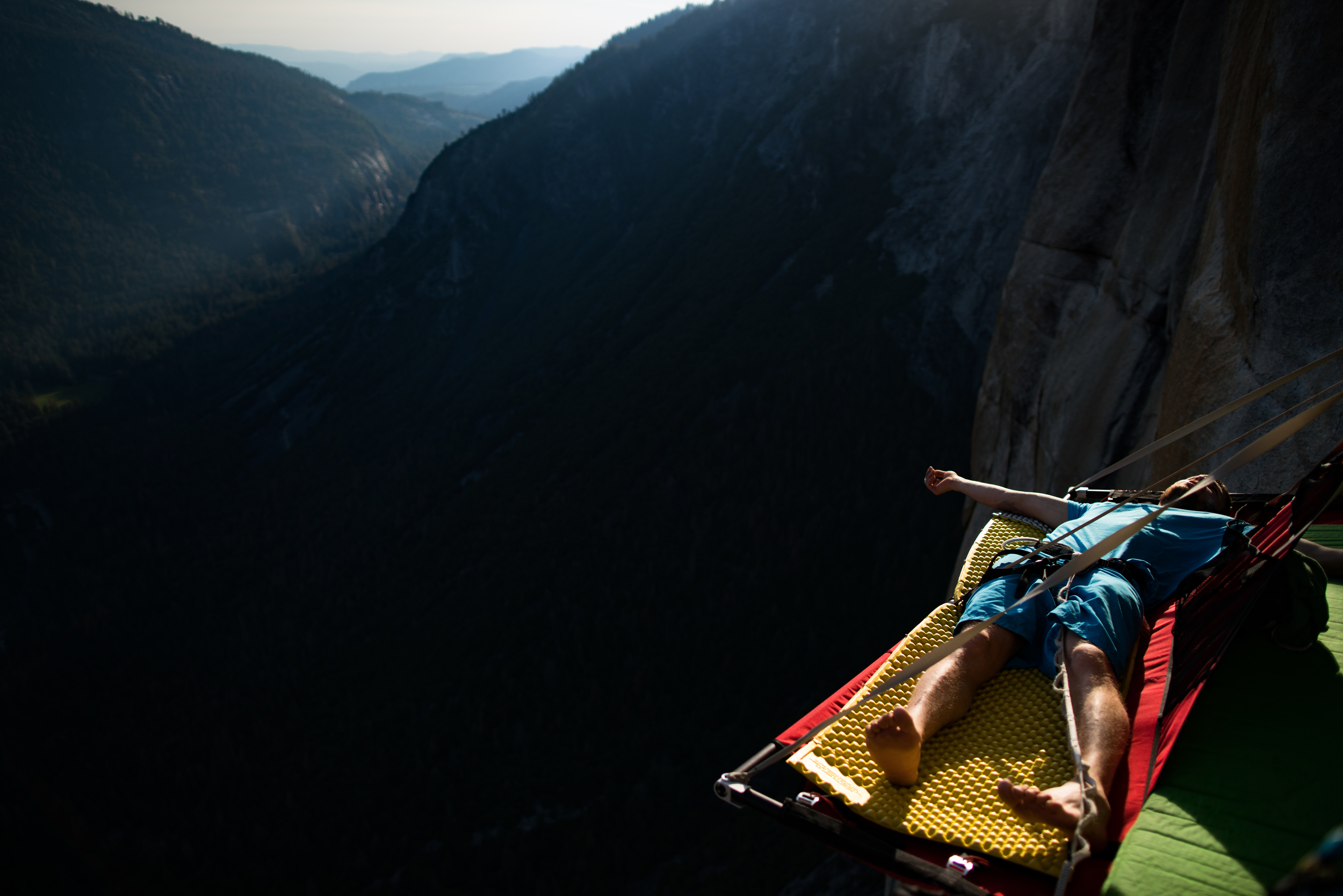 Lastly I'm working on a personal film including some footage I took on El Cap while Greg and Mike were sending El Corazon. Stay tuned...for I'm not sure when...not soon. Maybe never.