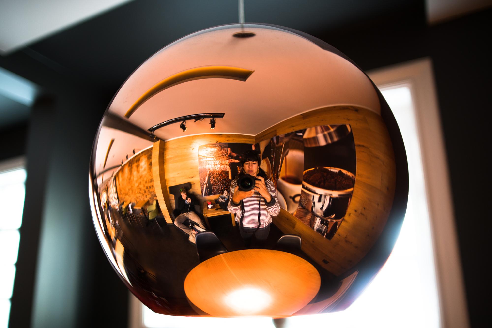 Reflections in a Reykjavík Coffee Shop