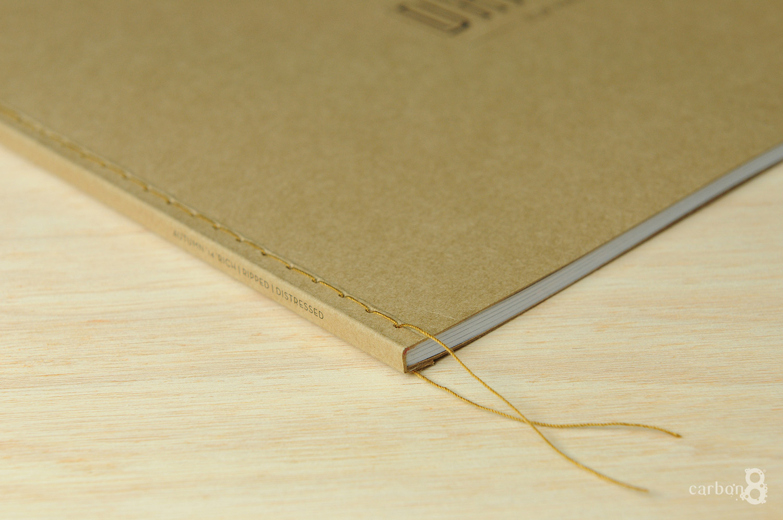Over sewn bound book