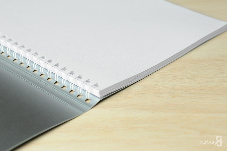 Canadian wiro bound notepad