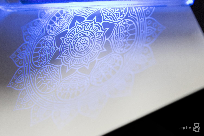 ultraviolet ink example