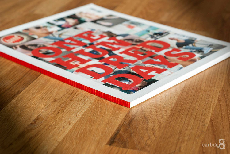 Pitch book printing BMF advertising