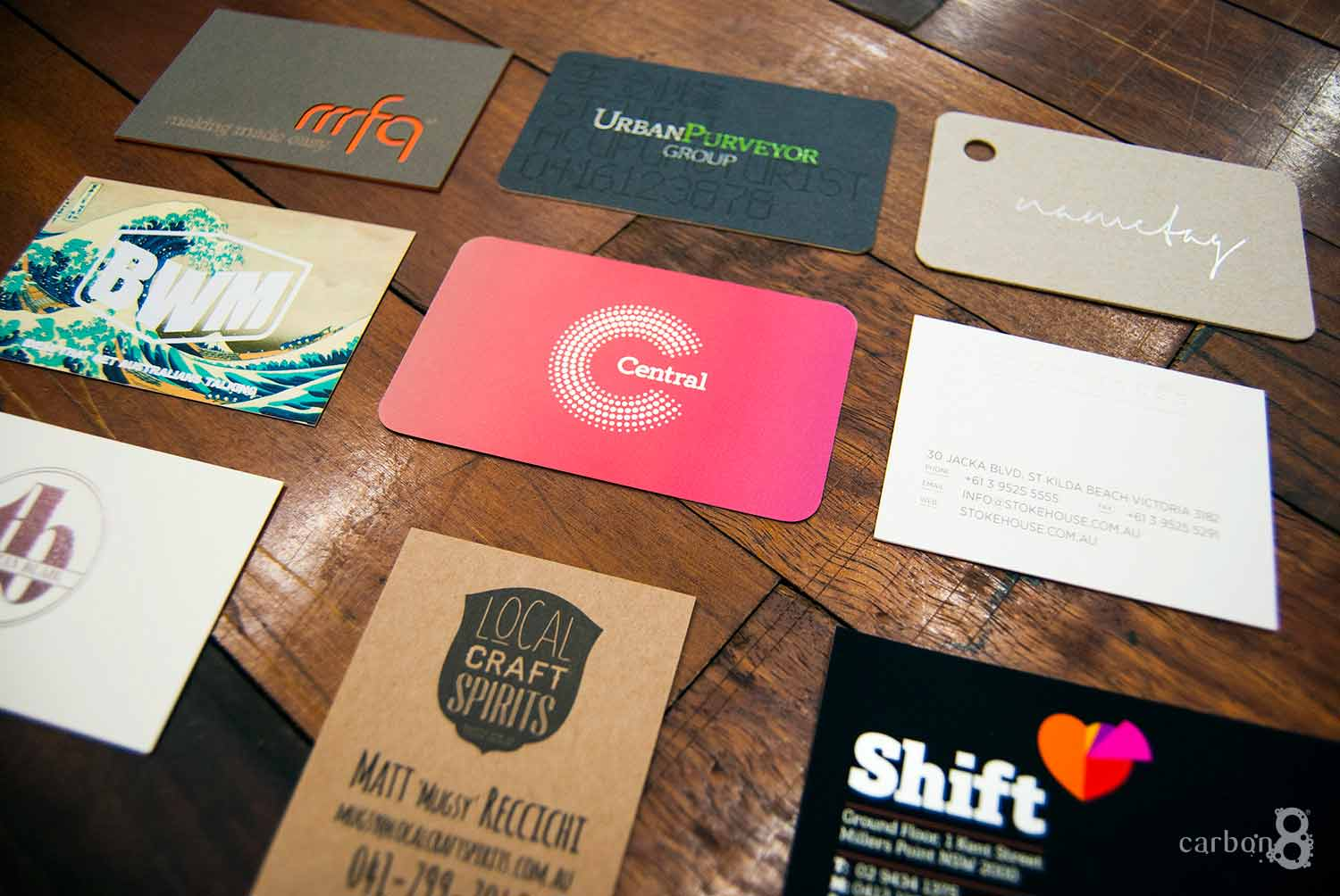 Offset business cards printing