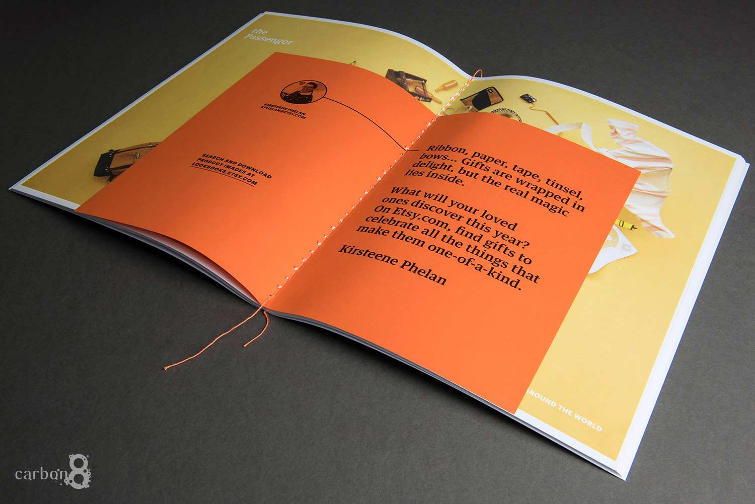Etsy booklet digitally printed - cover