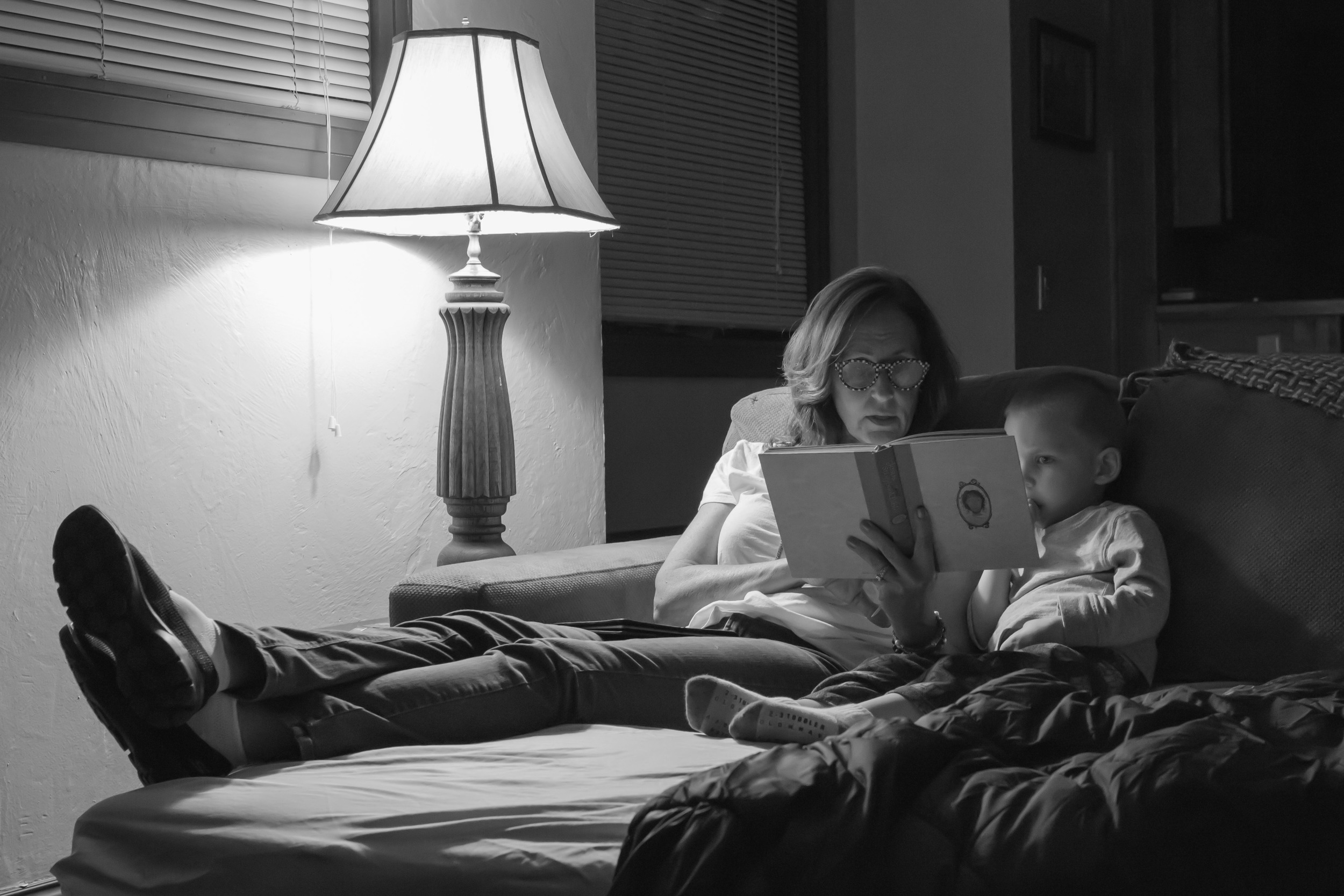 Night time Bible stories with Grandma