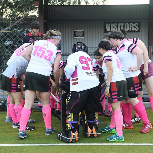 PINK WEEK FUN! 💗💕💖 Well done to all teams that played over the weekend and helped raise funds for @mcgrathfoundation