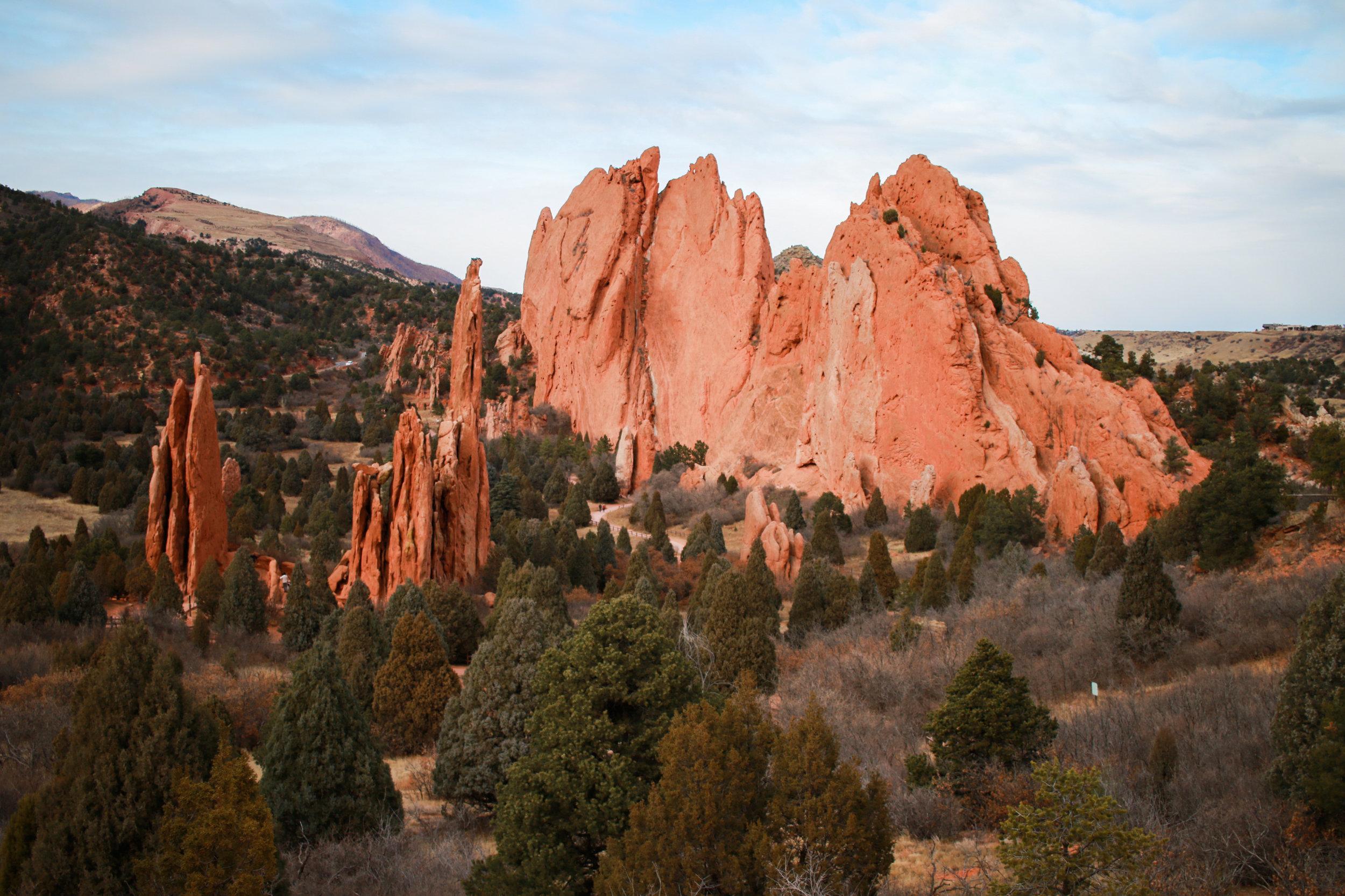 What To Do in Denver Travel Guide Travel Tips Colorado Springs Garden of the Gods