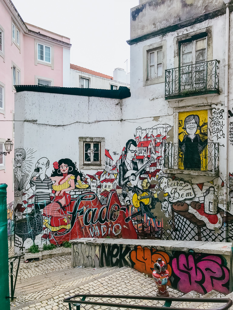 Street art in Lisbon, Portugal