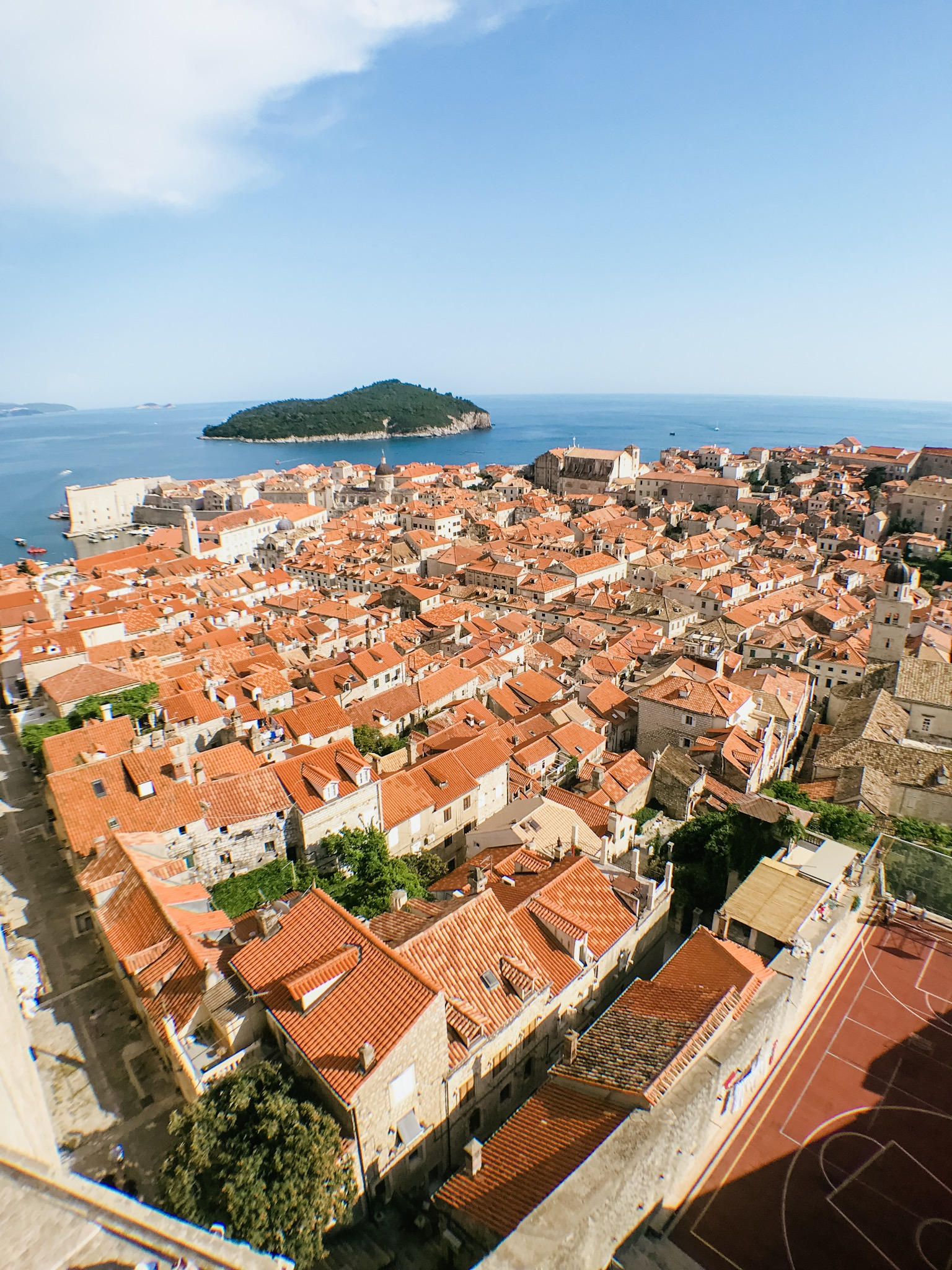 Old Town Dubrovnik Croatia City Wall Game of Thrones